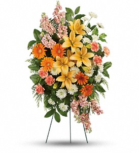Treasured Lilies Spray in Granite Bay & Roseville CA, Enchanted Florist