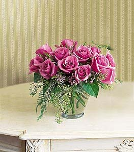 Pavwe of a Lavender Dozen in Dallas TX, Petals & Stems Florist