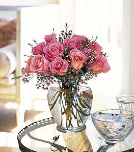 Pink Birthday Roses in Dallas TX, Petals & Stems Florist
