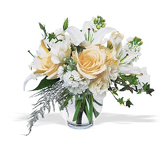 Serenity by Petals & Stems in Dallas TX, Petals & Stems Florist