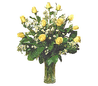 The Yellow Roses of Texas in Dallas TX, Petals & Stems Florist