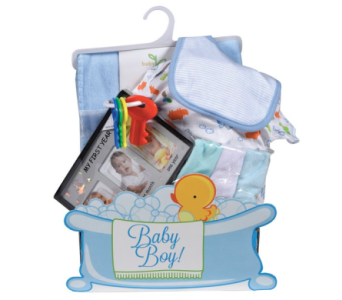 Baby Boy Gift Package in Timmins ON, Timmins Flower Shop Inc.