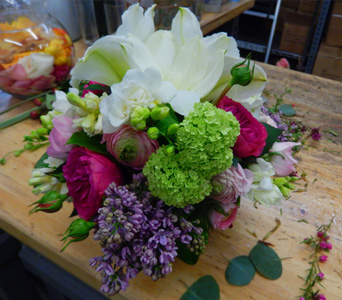 Aromatic Spring Amore in New York NY, Starbright Floral Design