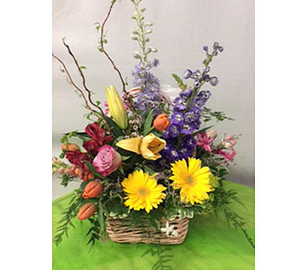 Garden Basket in Oakland CA, J. Miller Flowers and Gifts