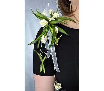Elegant Standout Corsage in Dearborn Heights MI, English Gardens