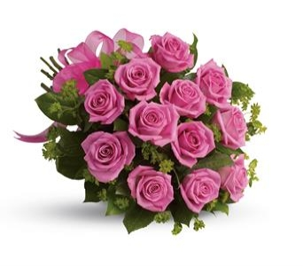 Dozen Cut pink Roses in Halifax NS, TL Yorke Floral Design