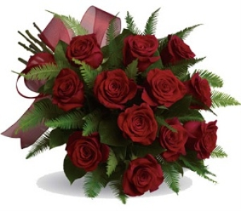 Dozen cut red roses in Halifax NS, TL Yorke Floral Design