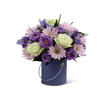 Color Your Day with Tranquility Bouquet in Chicago IL, La Salle Flowers