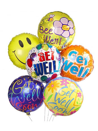 Balloon Bouquet: Get Well, Birthday in Omaha NE, Piccolo's Florist and Gifts