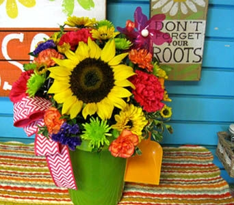 Summer Fun Bouquet in Kennewick WA, Heritage Home Accents & Floral