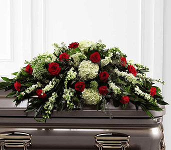 FTD Sincerity Casket Spray in Ajax ON, Reed's Florist Ltd