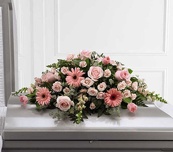 FTD Sweet Farewell Casket Spray in Ajax ON, Reed's Florist Ltd