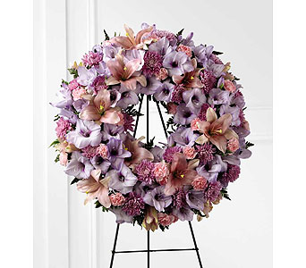 FTD Sleep In Peace Wreath in Ajax ON, Reed's Florist Ltd