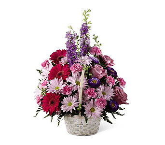 FTD Pastel Peace Basket in Ajax ON, Reed's Florist Ltd