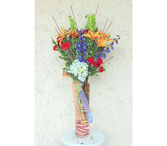 Birthday Confetti for Him in Raleigh NC, North Raleigh Florist