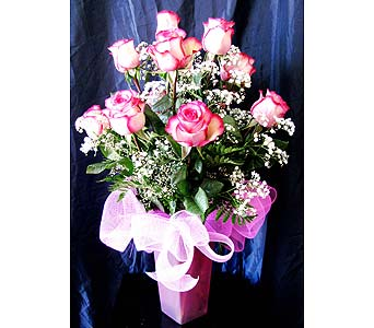 Premium Long-stem Carrousel Roses in San Diego CA, The Floral Gallery