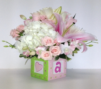 Baby Block in Wellington FL, Wellington Florist