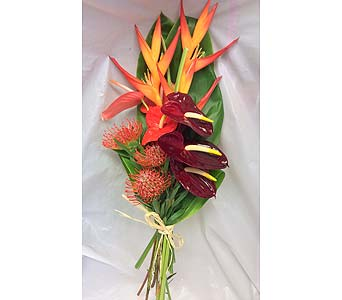 Dozen Mixed Tropical Flowers in Kihei HI, Kihei-Wailea Flowers By Cora