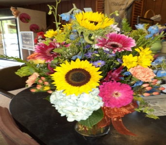 Springy Arrangement  in Milford OH, Jay's Florist