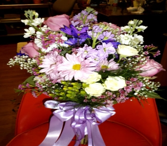 Lovely Lavender Bouquet in Milford OH, Jay's Florist