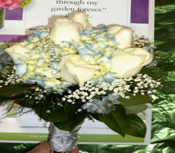 Bit of Blue Bouquet  in Milford OH, Jay's Florist