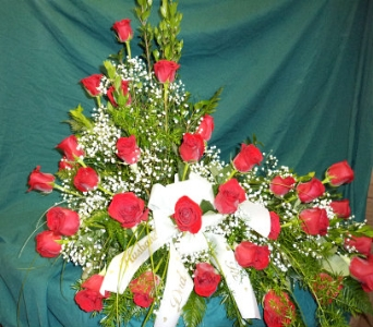 Red Rose Spray  in Milford OH, Jay's Florist