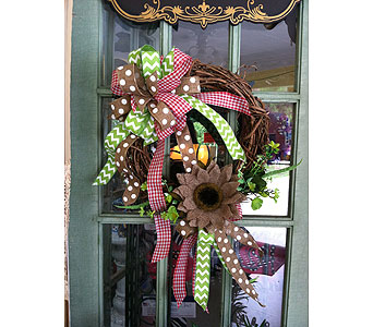Grapevine Wreath in Creedmoor NC, Gil-Man Florist Inc.
