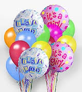 *New Born* Mylar Balloon in Nashville TN, Emma's Flowers & Gifts, Inc.
