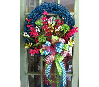 Teal Grapevine in Creedmoor NC, Gil-Man Florist Inc.