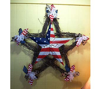 Star Grapevine in Creedmoor NC, Gil-Man Florist Inc.