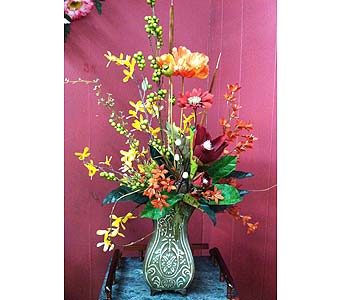 Silk Arrangement in Creedmoor NC, Gil-Man Florist Inc.