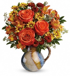 Teleflora's Blaze Of Beauty Bouquet in Woodbridge NJ, Floral Expressions