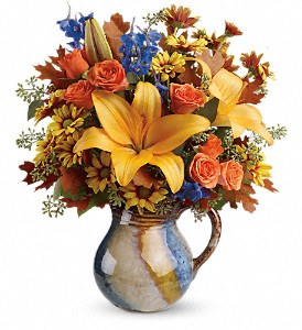 Teleflora's Harvest Fields Bouquet in Rock Island IL, Colman Florist