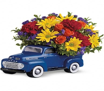'48 Ford Pickup Bouquet in Concord CA, Jory's Flowers