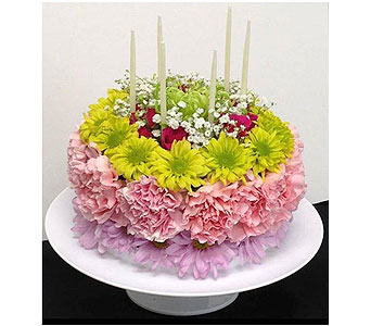 Birthday Cake Bouquet in Corunna ON, KAY'S Petals & Plants