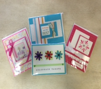 Hand Crafted Cards in Littleton CO, Autumn Flourish