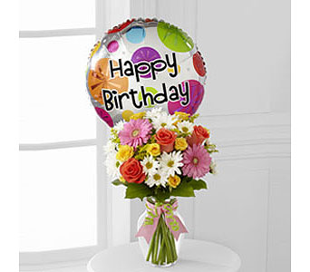 The FTD� Birthday Cheer� Bouquet  in Woburn MA, Malvy's Flower & Gifts