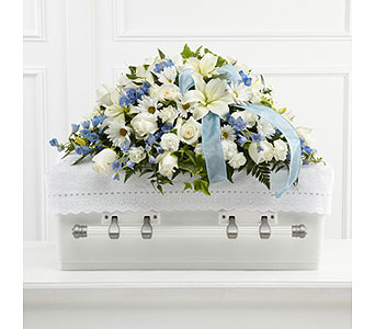 The FTD� Tender Treasure� Casket Spray  in Woburn MA, Malvy's Flower & Gifts