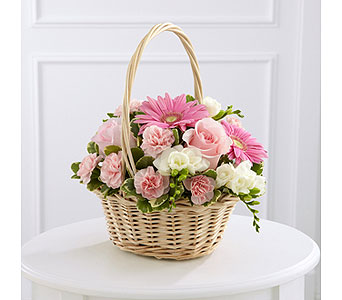 The FTD� Enduring Peace� Basket  in Woburn MA, Malvy's Flower & Gifts