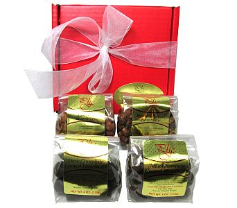 Hazelnut Lover's 4-Pack by Pacific Hazelnut Farms in Eugene OR, Dandelions Flowers