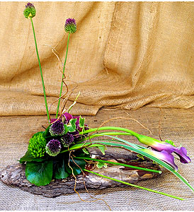 Ikebana Earthly Branch in New York NY, Starbright Floral Design