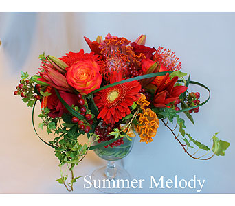 Summer Melody in Victoria BC, Fine Floral Designs