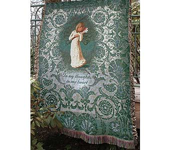 Willow Tree Angel Throw in Tullahoma TN, Tullahoma House Of Flowers