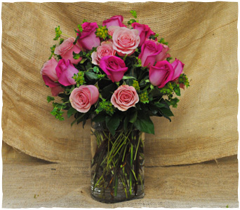 Pink Fusion Roses in New York NY, Starbright Floral Design