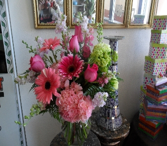 Playful Pink Perfection in Henderson NV, Beautiful Bouquet Florist
