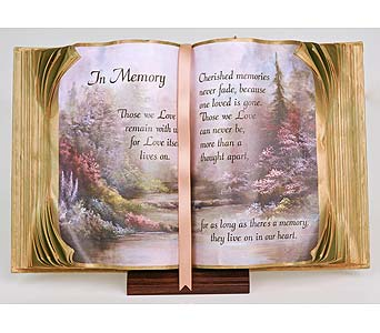 Memory Book of Love in Indianapolis IN, Gillespie Florists