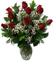 12 Red Roses in Timmins ON, Timmins Flower Shop Inc.