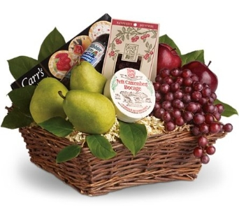 Delicious Delights Basket in Norristown PA, Plaza Flowers