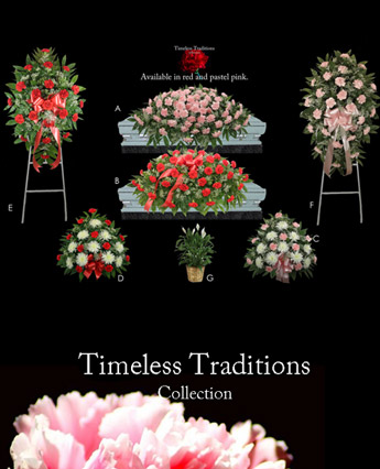 Fallon's Timeless Traditions: Pink or Red in Raleigh NC, Fallon's Flowers
