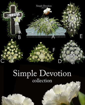 Fallon's Simple Devotion Collection in Raleigh NC, Fallon's Flowers